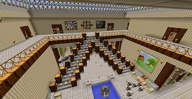 Epic Staircase Design Minecraft Project