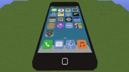 iPhone 5 Minecraft Map & Project