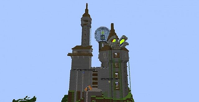 Yogscast Tekkit World Duncan S Castle And Honeydew Inc