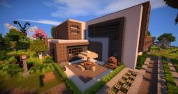 Modern House / Insomnia Island Minecraft Project