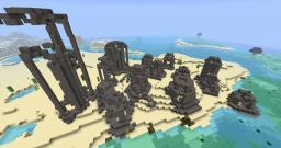 city in ruins Minecraft Map & Project