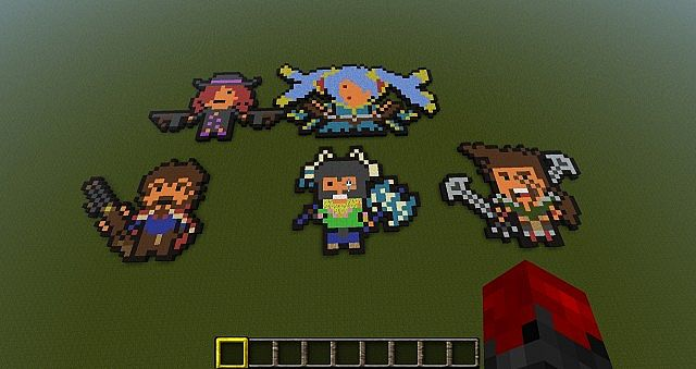 league of legends pixel