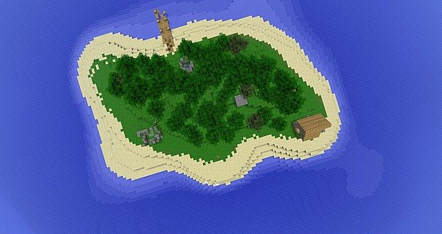 Birdview of the Island