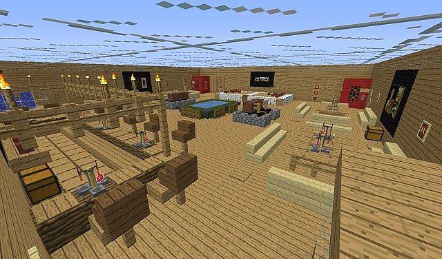 minecraft bar battle minecraft project