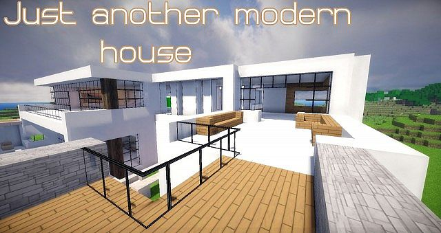 Just Another Modern House Minecraft Project