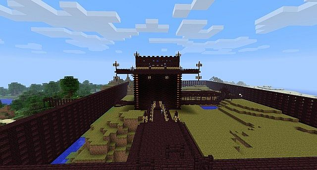 Outside faction world spawn