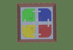 Block Fort (From Mario Kart) Minecraft Map & Project
