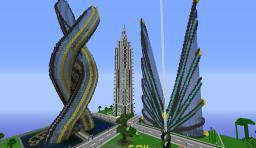 Skyscraper City Minecraft Project