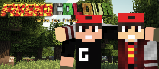 [1.5.2] FriendColour 2.0 - Rename Your Friends! (Client Mod) Minecraft