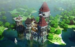 Swamp Castel (World Save) Minecraft Project