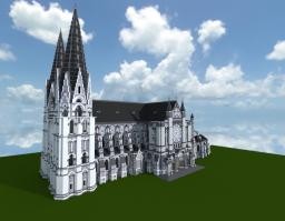 CHARTRES : KATHEDRALE Minecraft