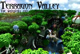 Terragon Valley | The Waterfall City Minecraft Map & Project