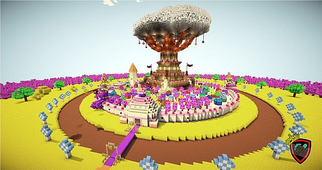 Candy Kingdom By Lords Of Minecraft PL [The Adventure Time] Minecraft ...