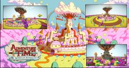 Candy Kingdom By Lords Of Minecraft PL [The Adventure Time] Minecraft Project