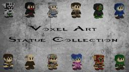 Voxel Art Statue Collection Minecraft Project