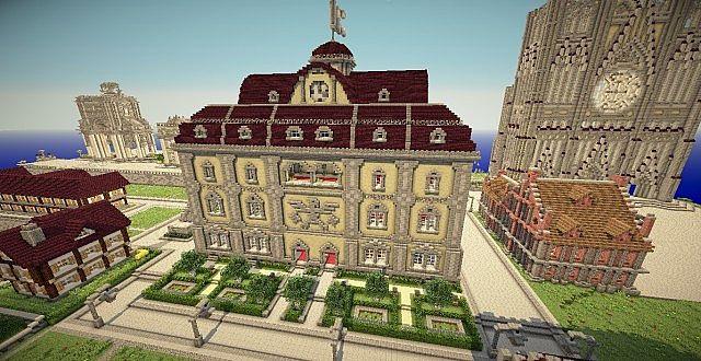 Bibliothek Minecraft