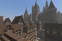 Server spawn for CastleCorp Minecraft Map & Project