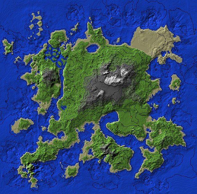Minecraft Treasure Island  Download