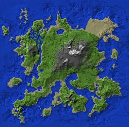 Custom Island Map Minecraft Project