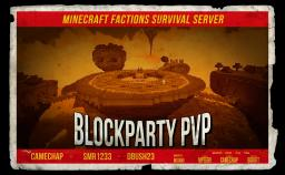 BlockParty PvP★No Chest Protection★Factions★MCMMO★Since 2012★ Minecraft Server