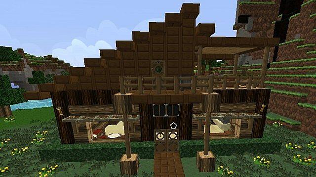 Log Cabin Minecraft Project