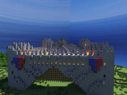 Castle on survival mode Minecraft Project