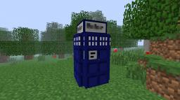 Tardis (It won't be working with the texture pack) Minecraft Project
