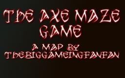 The Axe Maze Game Minecraft Map & Project
