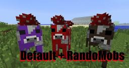 Default + RandoMobs by BluePern (continued by me) Minecraft Texture Pack
