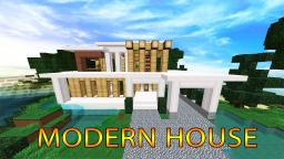 Bee Builds Modern House Minecraft Map & Project