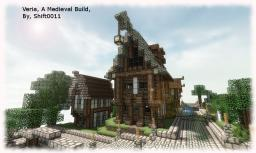 {Medieval} Veria, (A Medieval Shop) Minecraft Project