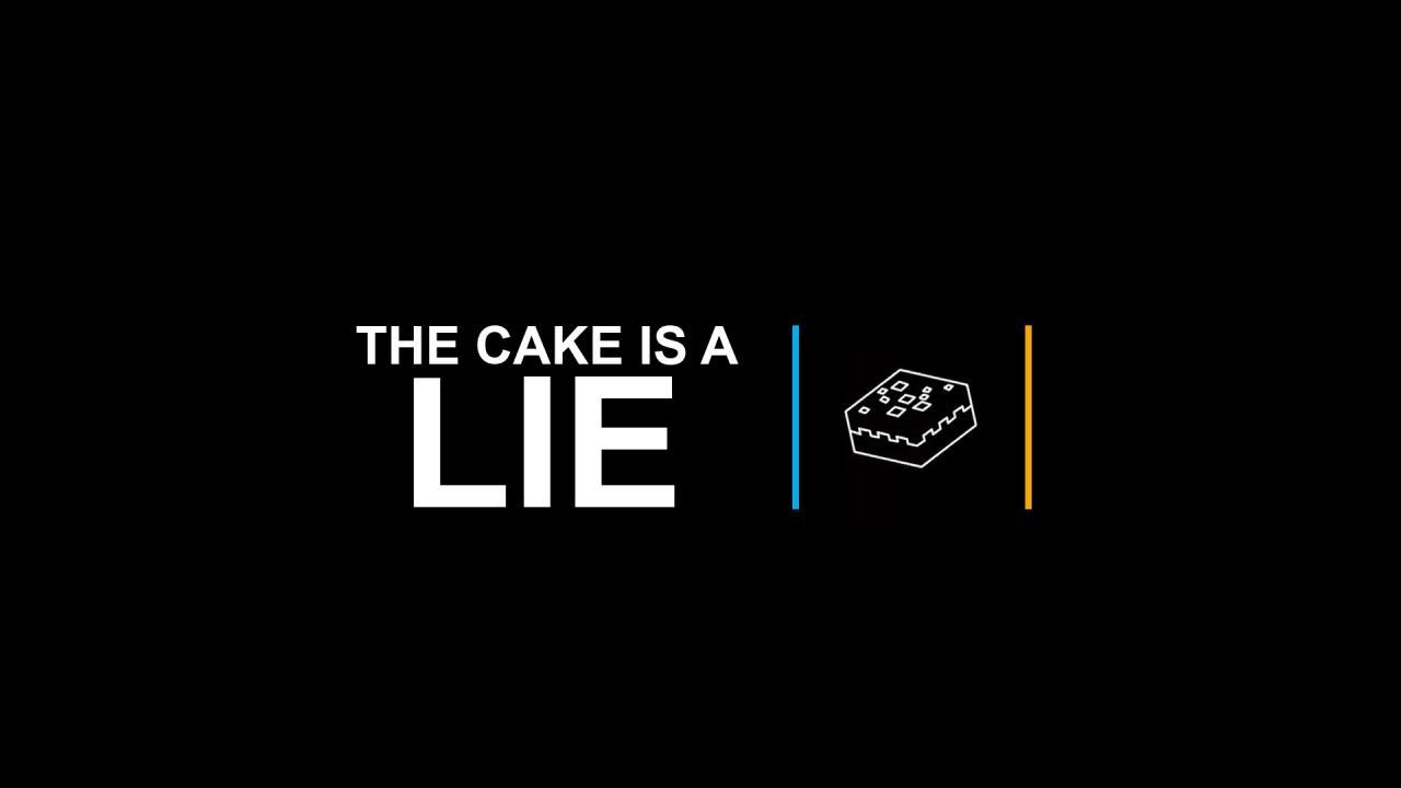 Cake Is A Lie Wallpaper 1920x1080 RES Minecraft Blog