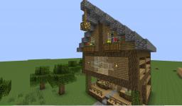 Froest cabin Minecraft Map & Project