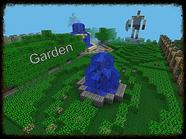 minecraft pe garden ideas - Minecraft Pe Garden Ideas