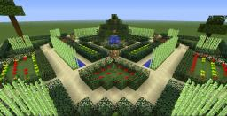 French garden 1 Minecraft Map & Project