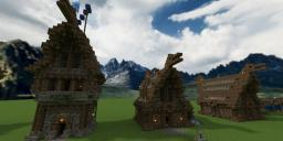 Detailed Medieval Building Bundle Minecraft Map & Project