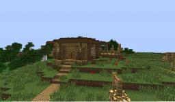 forest valley house Minecraft Map & Project