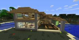 Swamp House Minecraft Map & Project