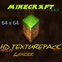 Big Realistic 1.4.7 HD 64x64 By Lancer Minecraft Texture Pack
