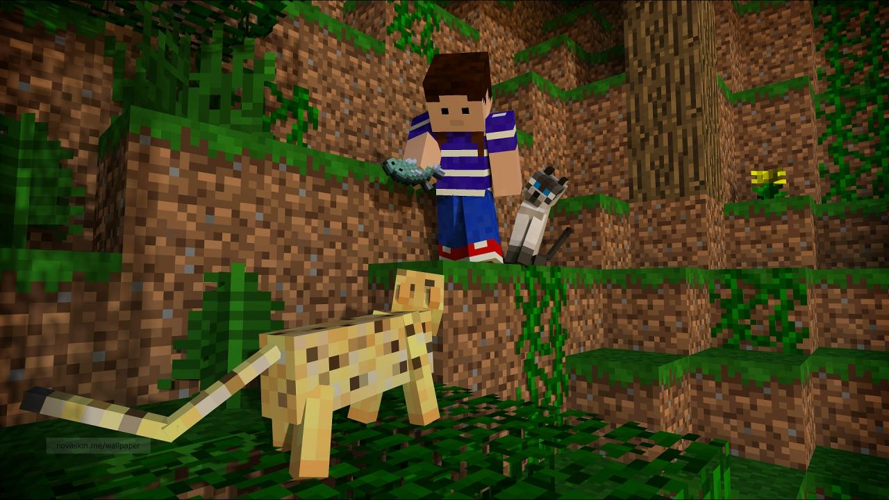here kitty kitty wallpaper minecraft blog