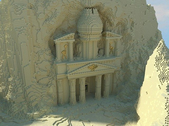 Petra with download minecraft project for Yharnam architecture