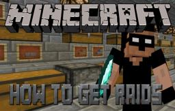 How to Get Raids Easily on Servers! TP TRICK! Minecraft Blog Post