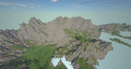 medium sized island with volcano Minecraft Map & Project