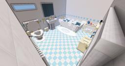 The Bathroom | Server Build | Pop-Reel | Minecraft