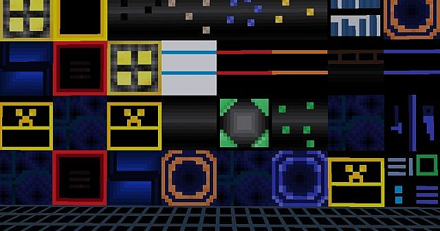 TRON texture pack (Updated 2 times) Minecraft Texture Pack