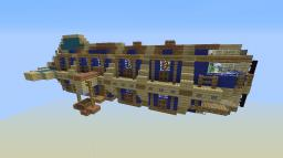 Yacht Airship Minecraft Map & Project