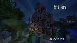 Milan - A Fantasy Build Minecraft Map & Project