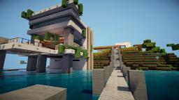 Modern Minimalist Mansion  #1 Minecraft