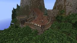 Mernaf medieval town Minecraft Map & Project