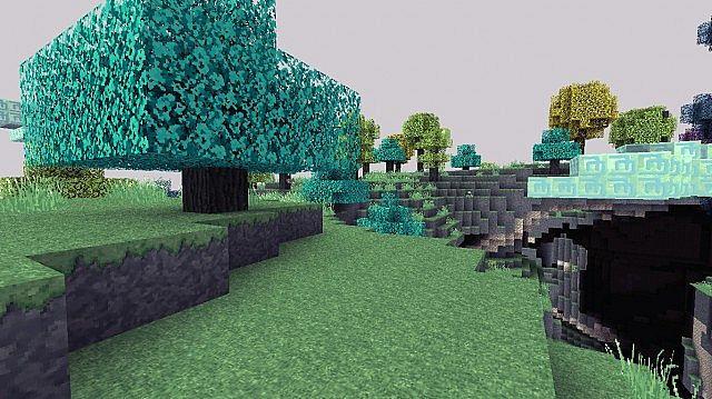 Blue Skyroot Tree